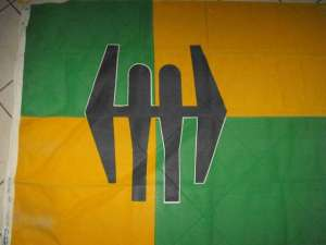 South African Defence Force SADF Group 27 HQ Flag