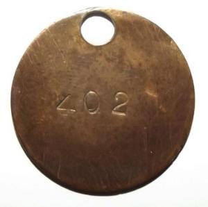 South African Labour Brass Check Token