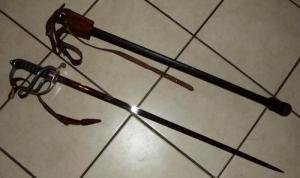 South African Police Officers Sword With Old Coat of Arms 3