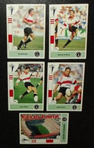 1993 South African Rugby Currie Cup Transvaal Players Collectors Cards 1