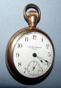 Pre 1890 New York Standard Watch Company Pocket Watch 1