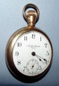 Pre 1890 New York Standard Watch Company Pocket Watch 1