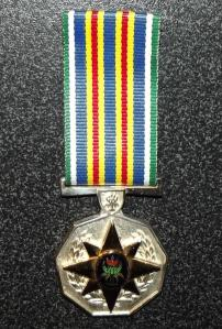 South African Police Service 30 Year Loyal Service Full Size Medal 1