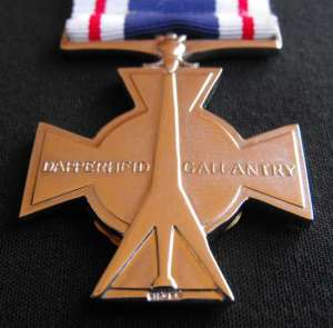 South African Police Silver Cross for Gallantry Full Size Medal
