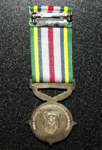 South African Police Service Commendation Full Size Medal