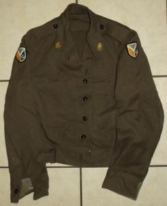 1969 South Africa SADF Army Combat Bunny Jacket 1