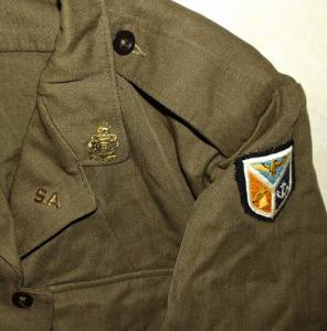 1969 South Africa SADF Army Combat Bunny Jacket