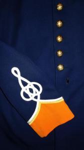 1983 South African Cape Town Castle Guard Uniform