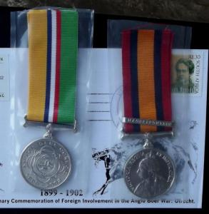 Collection of 45 South African Anglo Boer War Centenary 1999 - 2002 Items 1