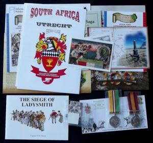 Collection of 45 South African Anglo Boer War Centenary 1999 - 2002 Items
