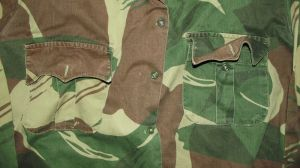 Rhodesia Army Camo Long Sleeve Shirt 1