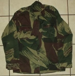 Rhodesia Army Camo Long Sleeve Shirt