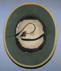 Rhodesia Khaki Cork Pith Helmet 1