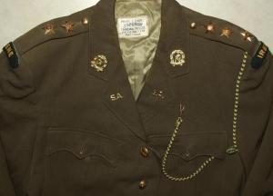 South Africa SADF Irene Commando Uniform Jacket + Badges + Lanyard 1