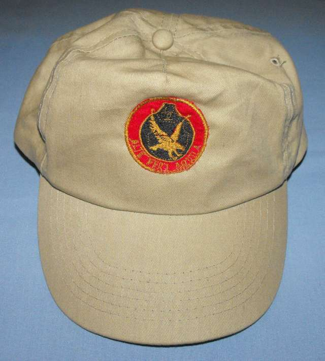 South African AWB Khaki Cap With Badge