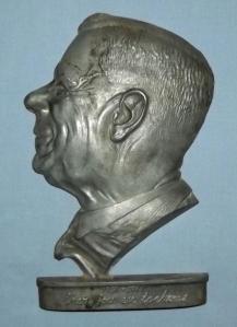 South african H.F Verwoerd 1958-1966 Skep jou eie toekoms Metal Plaque 1