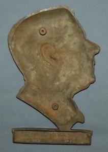 South african H.F Verwoerd 1958-1966 Skep jou eie toekoms Metal Plaque
