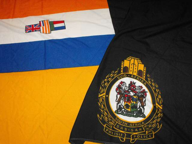 South African Railways Police 180cm x 110cm Flag