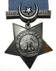 Sudan Full Size Khedive's Star Medal 2