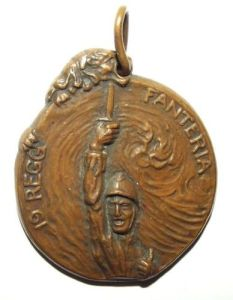 WW1 Italian 19th Infantry Regiment Medal 1