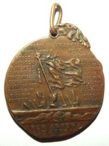 WW1 Italian 19th Infantry Regiment Medal