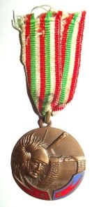 WW2 Italian 1 Armored Riflemen Regiment Medal