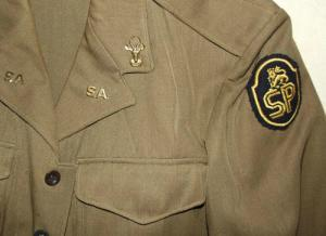 1968 South Africa SADF State President Guard Combat Bunny Jacket and Trousers 1