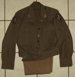 1968 South Africa SADF State President Guard Combat Bunny Jacket and Trousers