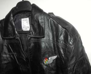 1989 South African Airforce Navigator Leather Jacket 2