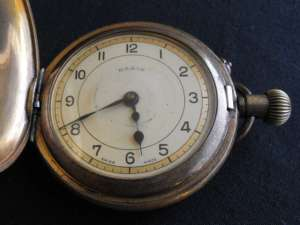 Basis Swiss Made Pocket Watch in Case 2