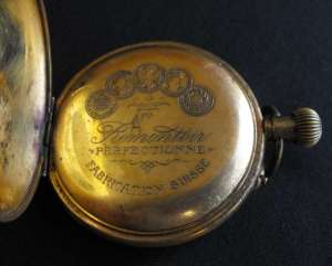 Basis Swiss Made Pocket Watch in Case 3