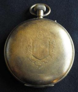 Basis Swiss Made Pocket Watch in Case