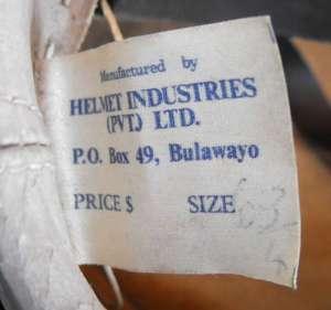 Rhodesia British South Africa Police Shako Hat 3