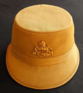 Rhodesia British South Africa Police Shako Hat