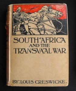 Set of South Africa and the Transvaal War 1900 - 1902 Boer War Books by Louis Creswicke