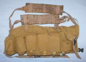 South Africa SADF Parabat Special Forces Bateleur 90 Nutria Chest Webbing