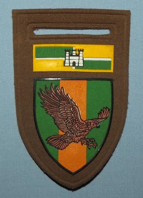 South Africa SADF Schantskop Commando Rubber Shoulder Flash Badge