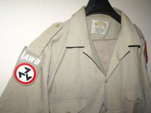 South African AWB Khaki Uniform With Shoulder Flashes 2