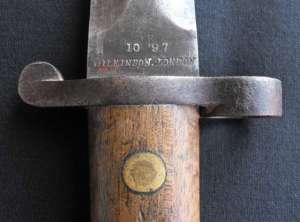 South African Boer War Lee Metford Wilkinson Bayonet 1