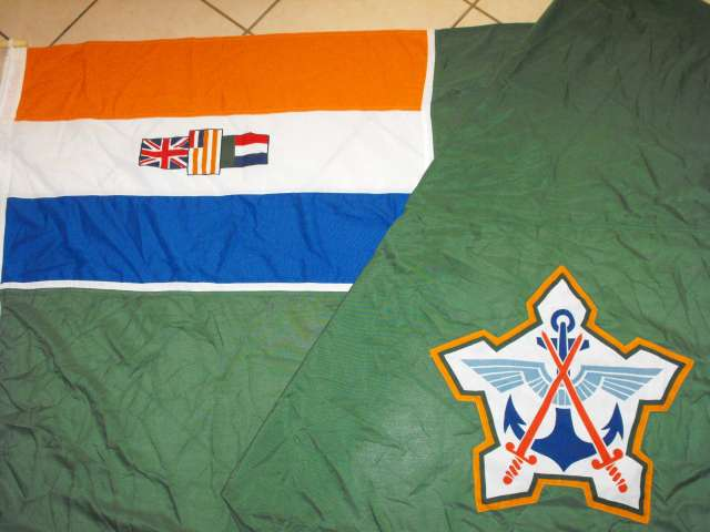 South African Defence Force 180cm x 120cm Flag