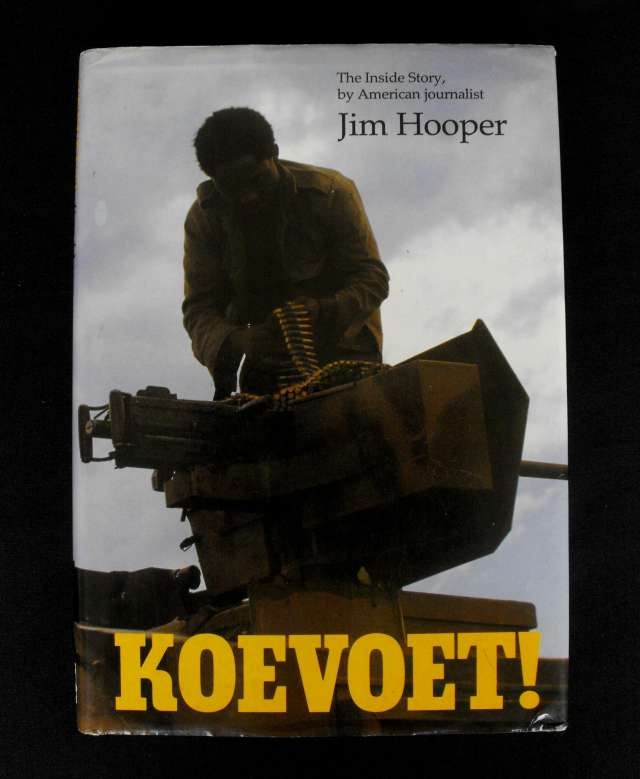 South African Koevoet Book by Jim Hooper