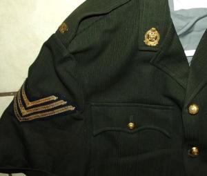 South African Railway Police Green Summer Safari Suit Uniform 2