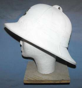 South African Railways Police White Ceremonial Helmet 1