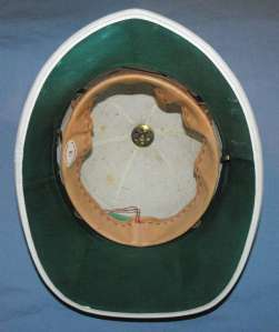 South African Railways Police White Ceremonial Helmet 2