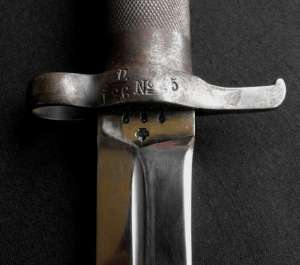 Swedish Mauser Pattern 1896 Bayonet With Metal Scabbard 1