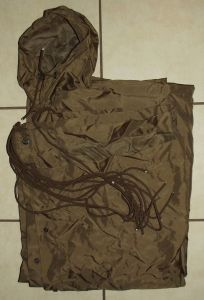 1984 South Africa SADF Army Nutria Poncho
