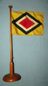 German East Africa Shipping Line Desk Flag