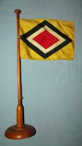 German East Africa Shipping Line Desk Flag