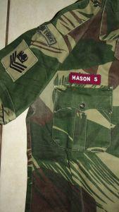 Rhodesia Air Force Camo Short Sleeve Shirt 1