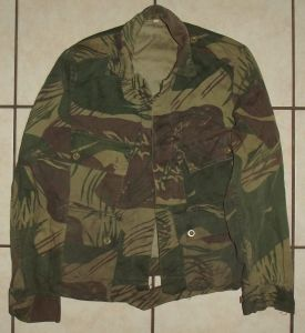 Rhodesia Army Camo Field Jacket